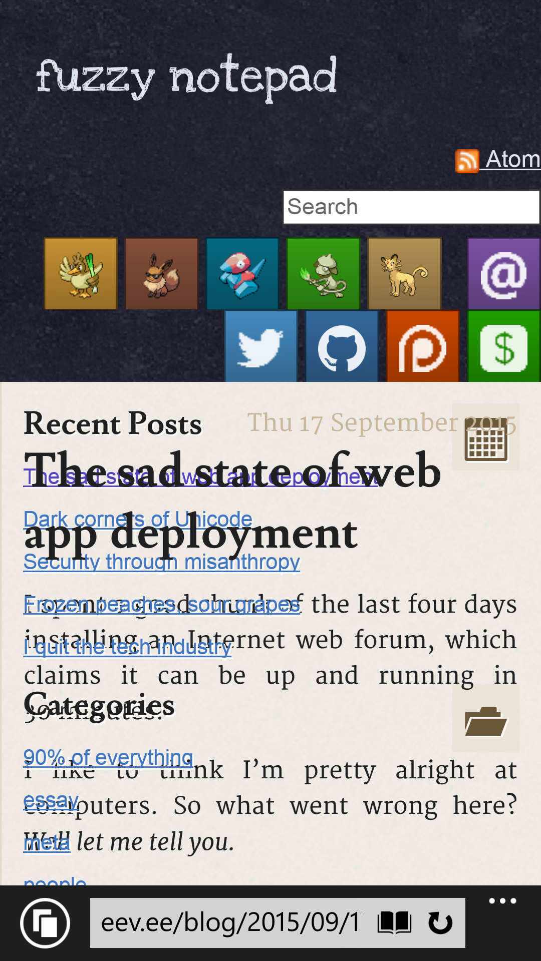 The Sad State Of (Atwood's) Web App Deployment - What the