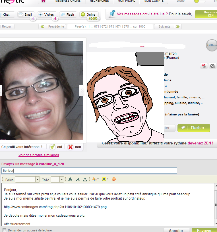 MS Paint dating Troll