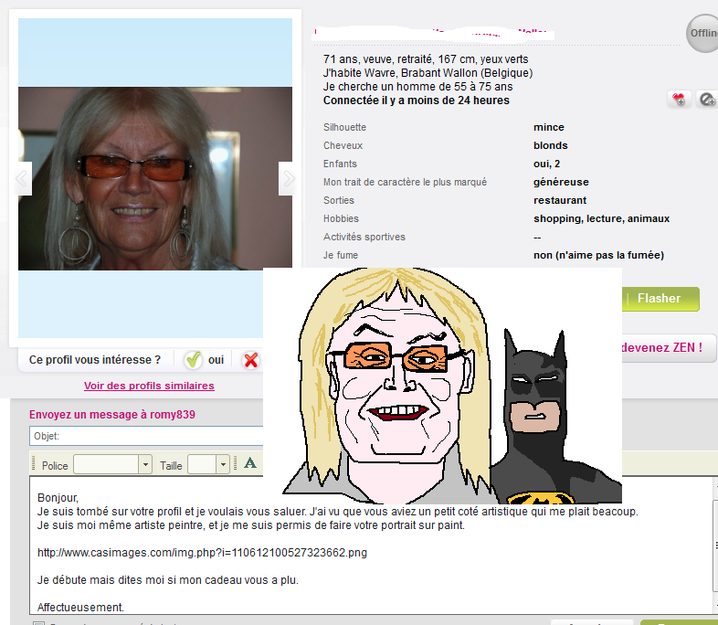 ms paint dating site trolling