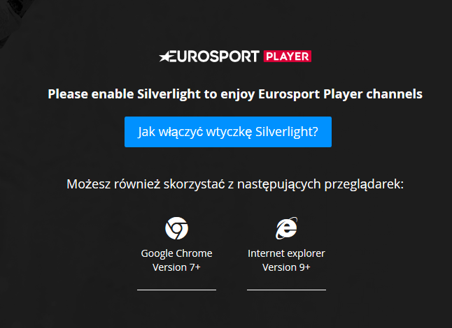 Eurosport Player cannot Firefox - What the Daily WTF?