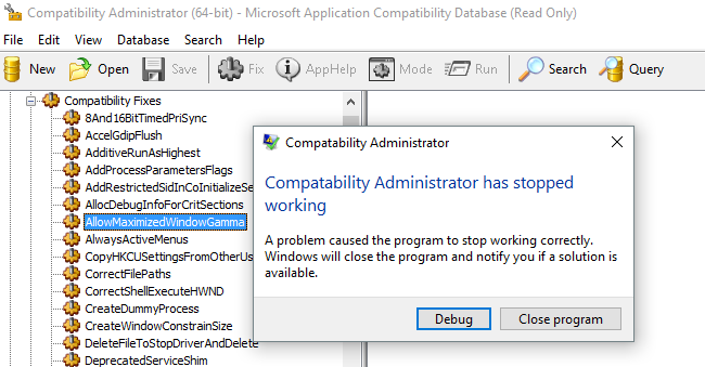 0_1466332850215_2016-06-19 12_34_17-Compatibility Administrator (64-bit) - Microsoft Application Compatibility Datab.png