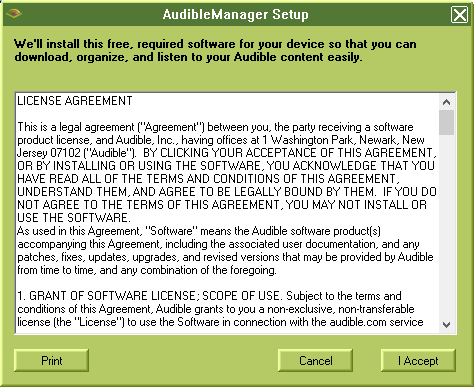 Audible Manager - What the Daily WTF?