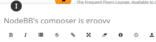 NodeBB's composer is groovy - What the Daily WTF?