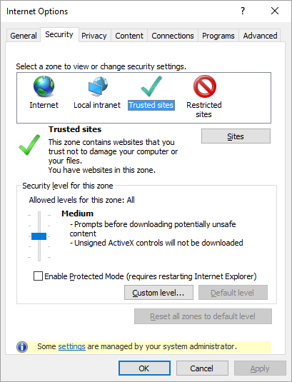 What are the effects of IE Security Zones - What the Daily WTF?
